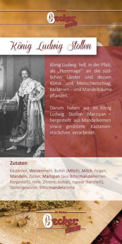 Flyer zum König Ludwig