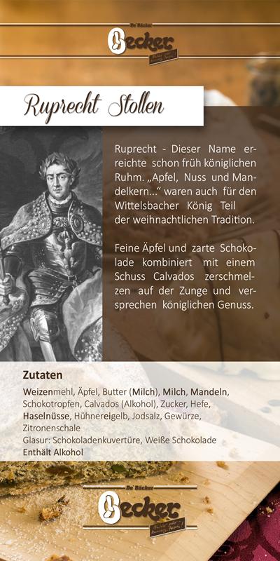 Flyer zum Ruprecht Stollen